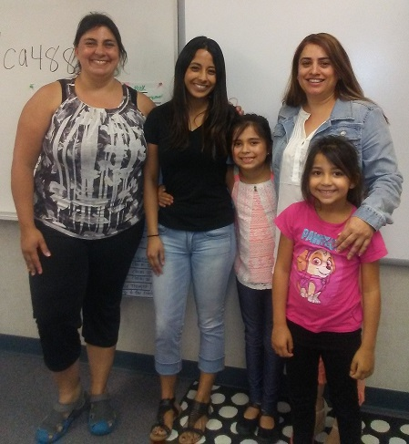 Multi-cultural Family Literacy Classes 2016-17