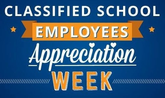 Classified School Employees Appreciation Week