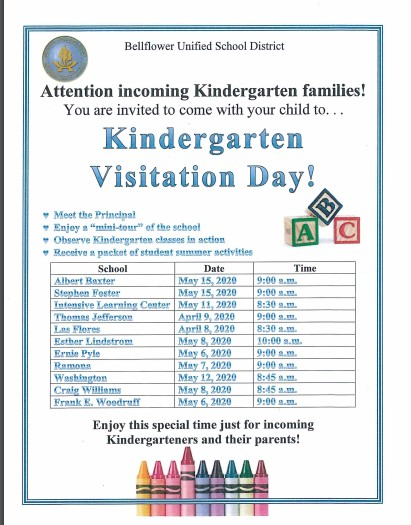 Kinder visitation day