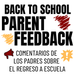 Back to School Parent Feedback