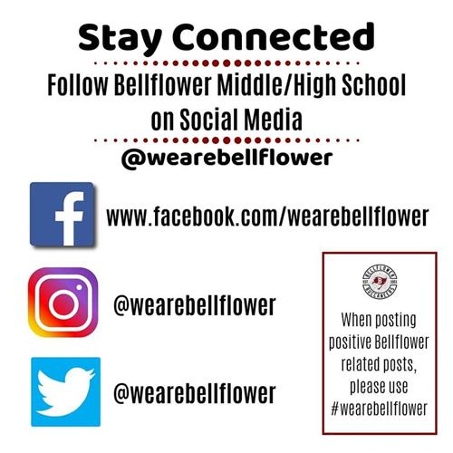 Bellflower Social Media Addresses