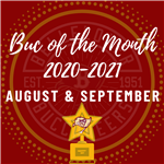 Buc of the Month 2020-2021 August & September