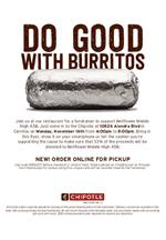 Chipotle Fundraiser 11.16.20
