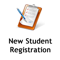 New Student Registration Clipart Image