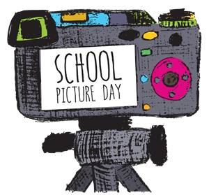 School Picture Day Clip Art Image