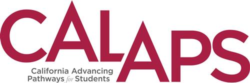 CalAPS Logo, California Advancing Pathways for Students