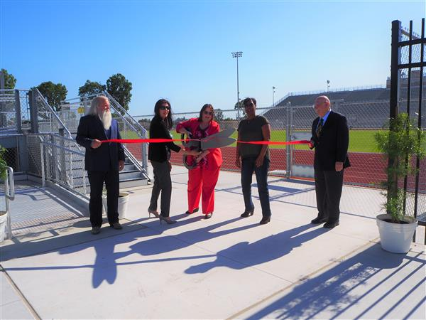 Board members J. Cleveland, L Sanchez-Ramirez, D. Cuadros, R. Armstrong, and R. Downing