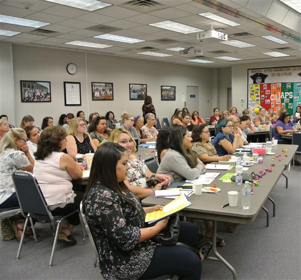 BUSD Welcomes Back School Site Clerical Staff